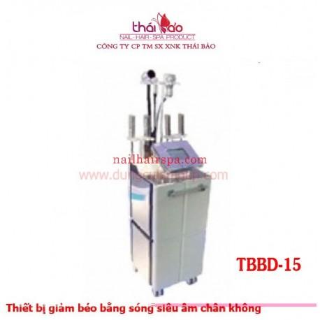Thiết bị giảm béo bằng sóng siêu âm chân không TBBD15