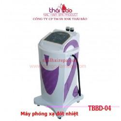 Máy phóng xạ đốt nhiệt TBBD04