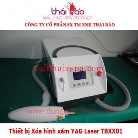 Thiết bị Xóa hình xăm YAG Laser TBXX01