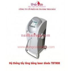 Hệ thống tẩy lông bằng laser diode TBT808