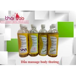 Dầu massage body thường