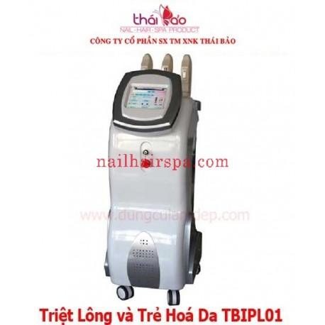 Máy đa năng Triệt Lông và Trẻ Hoá Da TBIPL01