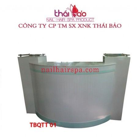 Quầy Tiếp Tân TBQTT01