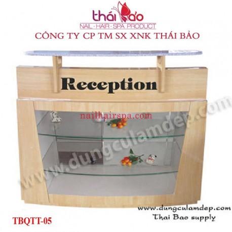 Quầy Tiếp Tân TBQTT05