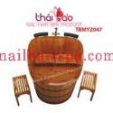 Bồn tắm gỗ cao cấp TBMYZ047