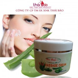 KEM MASSAGE MẶT - ALOE MASSAGE CREAM