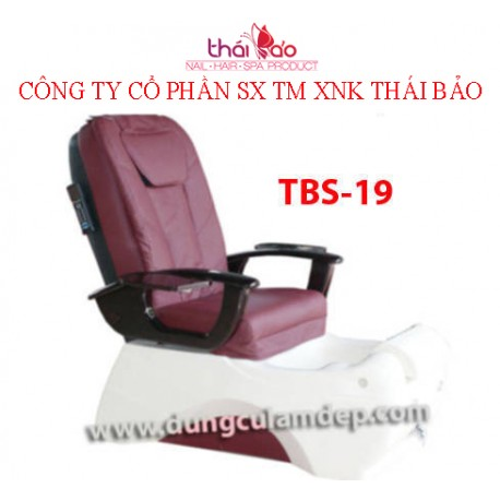 Ghế Spa Pedicure TBS19