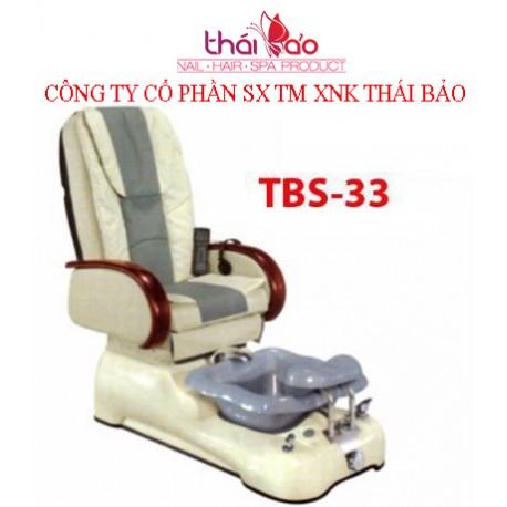 Spa Pedicure Chair TBS33