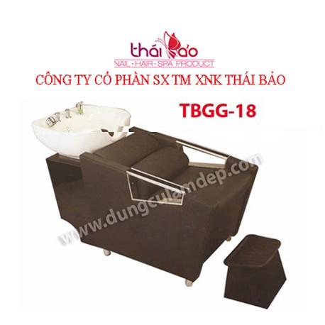 Giường gội đầu TBGG18