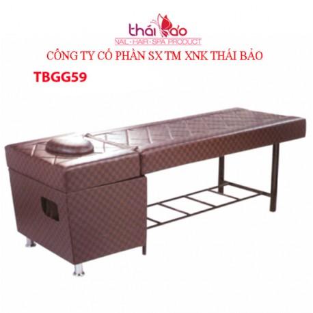 Giường gội đầu TBGG59