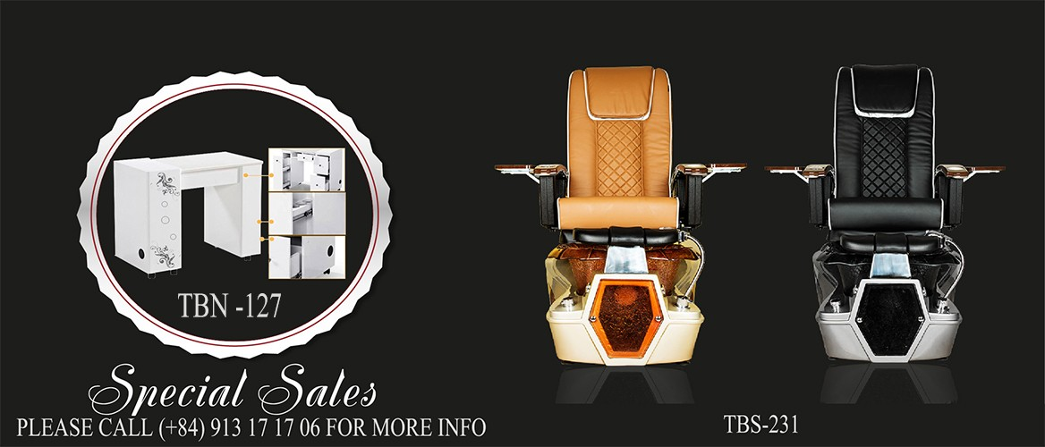 Spa Pedicure Chair TBS231 - Nail Table Special Sales